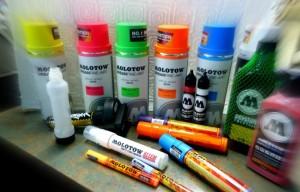 Molotow Spray Paint & Markers