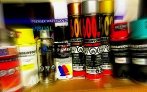 Molotow spray cans photo